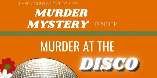 M**der Mystery Dinner- 70's, 13 November   Event in Griffith   AllEvents.in