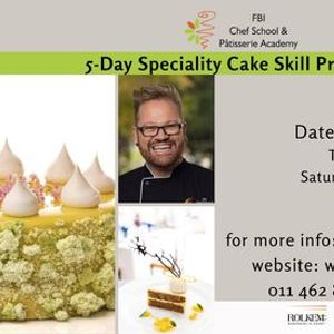5-Day Specialty Cakes Workshop