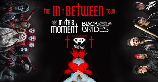 In This Moment & Black Veil Brides With Guest Ded, 17 November   Event in Greensboro   AllEvents.in