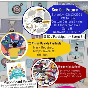 H.M.S. Foundation Youth & Young Adult Vision Board Expo