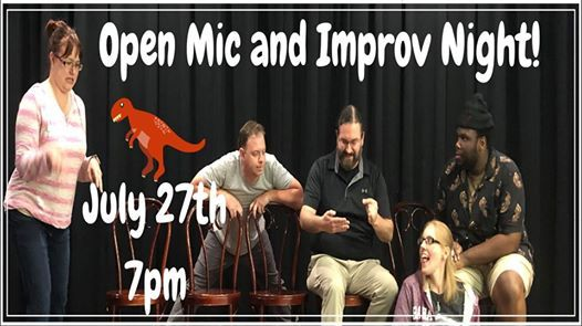 Open Mic Night and Improv Show w Graffiti on the Fourth Wall