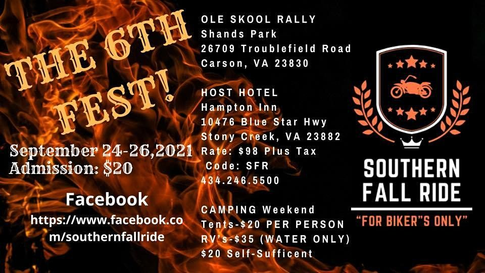 Southern Fall Ride 2021, 24 September | Event in Carson | AllEvents.in