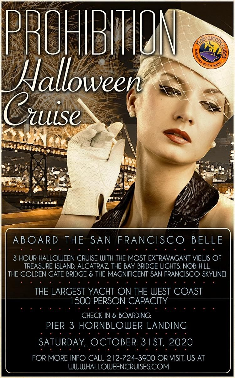 Halloween Party Bay Area 2020 Prohibition Halloween Party Cruise Aboard the San Francisco Belle