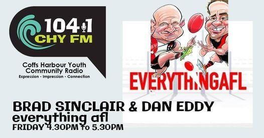Everything AFL with Brad Sinclair & Dan Eddy, 14 May | Event in Coffs Harbour | AllEvents.in