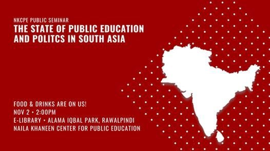 The State of Public Education and Politics in South Asia