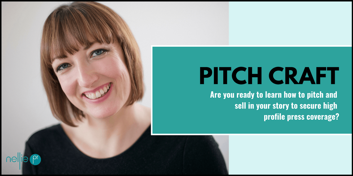Pitch Craft how to pitch to the media & secure high profile press coverage