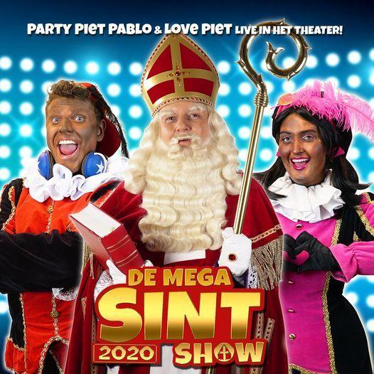 De Mega Sint Show 2020 (2+) - Jubileumeditie, 30 November   Event in Waalwijk   AllEvents.in