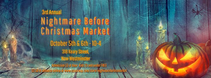 Nightmare Before Christmas Market at 318 Keary St, New