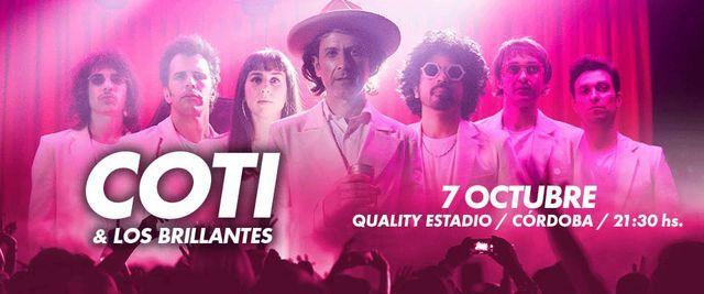 Coti y Los Brillantes en vivo • Córdoba, 7 October | Event in Alta Gracia | AllEvents.in