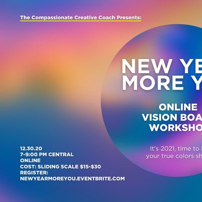 New Year More You-Online Vision Board Workshop