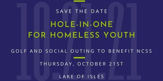 Hole-in-One for Homeless Youth: Golf and Social Outing to benefit NCSS, 21 October   Event in Old Mystic   AllEvents.in