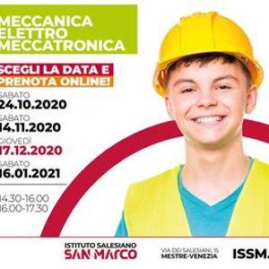 OPEN DAY  MECCANICA - ELETTRO - MECCATRONICA  17.12.2020