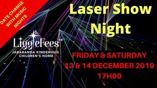 Laser Show 14 Dec 2019 (with Music)