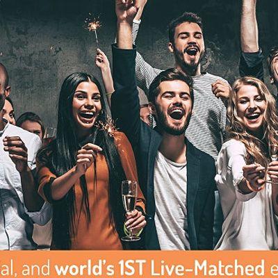 Worlds 1st Live-Matched Singles Adventure Games  Toronto  Secret RSVP