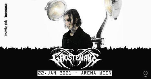 Neuer Termin TBA - Ghostemane // Wien, 22 February   Event in Vienna   AllEvents.in
