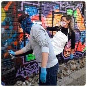 Graffiti Spraying & Cycle Tour