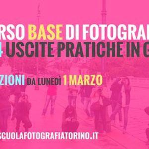 Corso Base di Fotografia Online a Torino con Uscite in Esterno