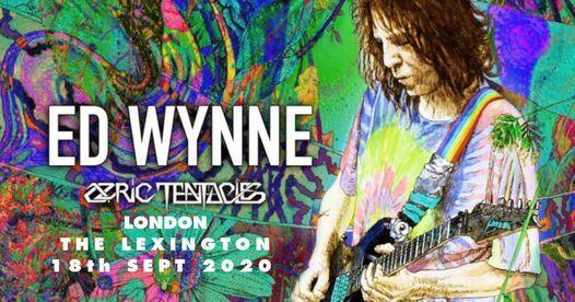Ed Wynne [Ozric Tentacles] in London 18.09.2020 - New Date