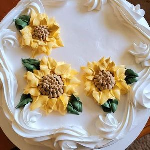 Frosting With A Twist - Sunflowers