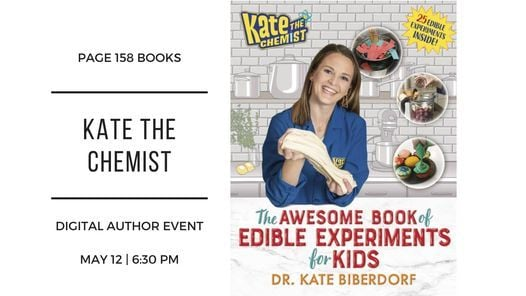 Author Event: Kate the Chemist, 12 May | Online Event | AllEvents.in