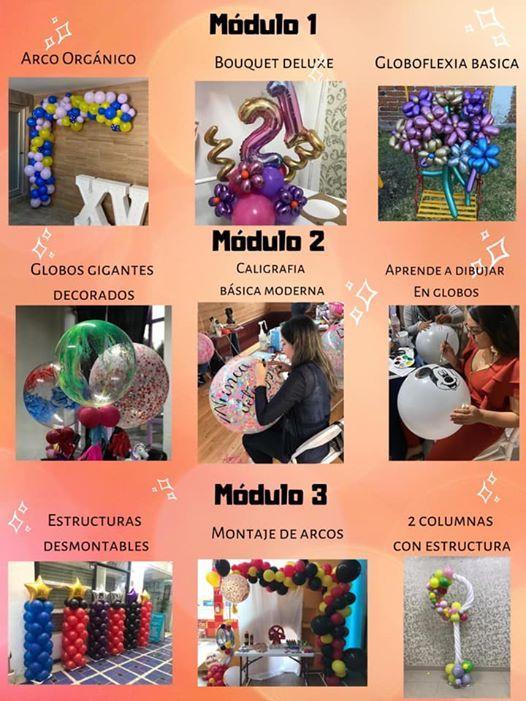 Curso Completo De Decoración Con Globos Veracruz At