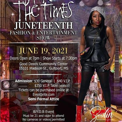 Sign O The Times Juneteenth Fashion & Entertainment Show