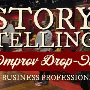 Improv For Adults Summer 2021 Drop In Storytelling