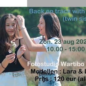 Back on track with twins - fotografie workshop