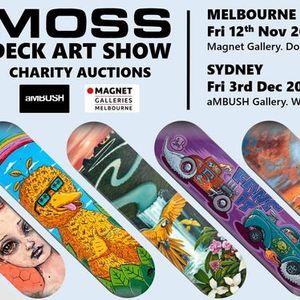MOSS Deck Art Show SYDNEY 2021