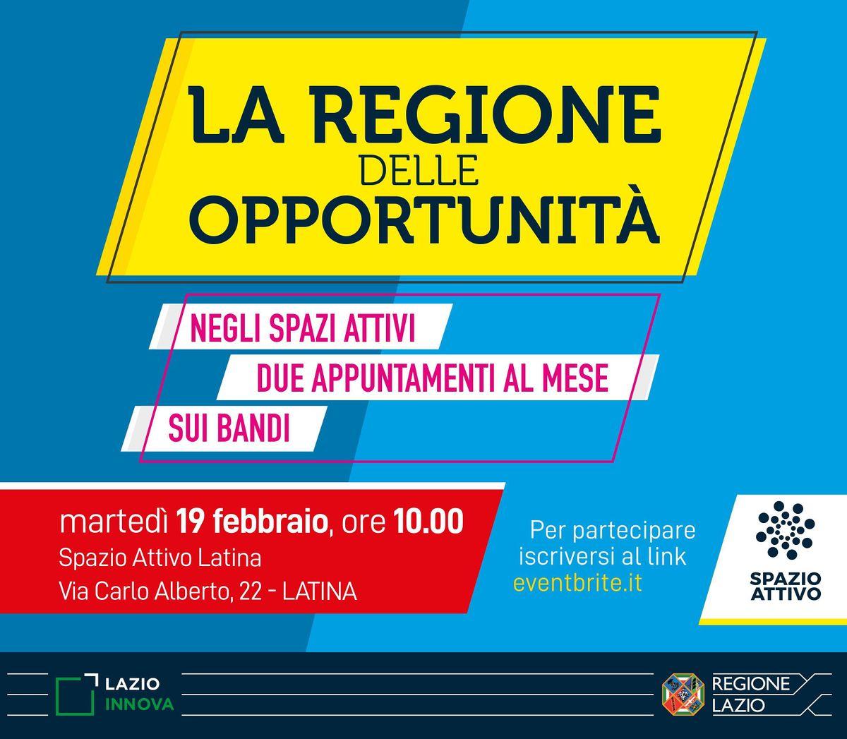La Regione delle opportunit - Viterbo