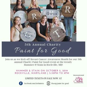 5th Annual Charity Paint for Good Fundraiser