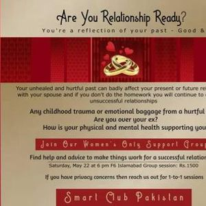 Womens Meetup Islamabad to Learn to Make Your Relationships Happy Healthy and Successful