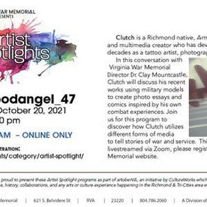 Virginia War Memorial Artist Spotlight Clutch bloodangel_47