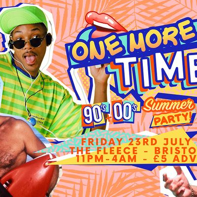 One More Time - 90s & 00s Party