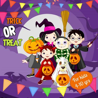 Virtual Halloween Party for Kids