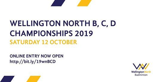 Wellington North Badminton B C D Championships 2019