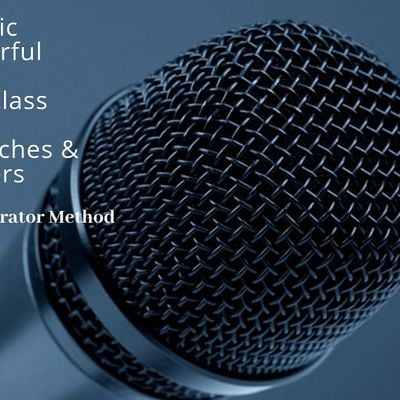 Camera and Public Speaking Powerful Techniques Online Masterclass Business