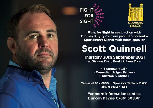 Fight For Sight Sportsman's Dinner, 30 September | Event in Peterborough | AllEvents.in
