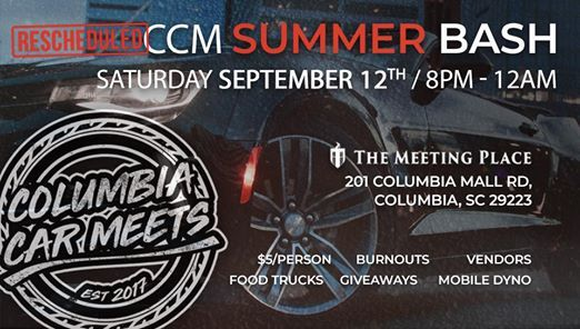 CCM Summer Bash