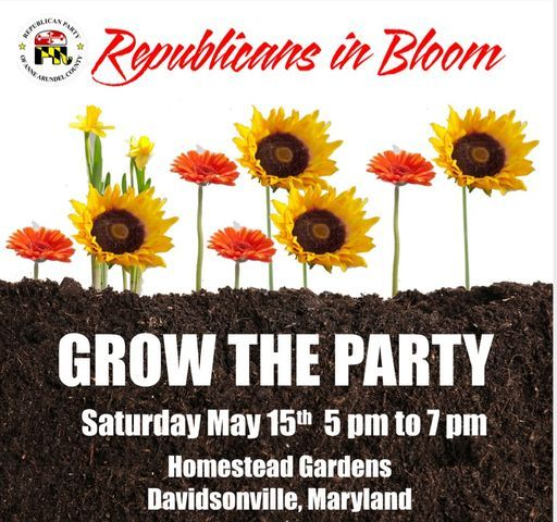 Republicans in Bloom Spring Fundraiser, 15 May | Event in Davidsonville | AllEvents.in