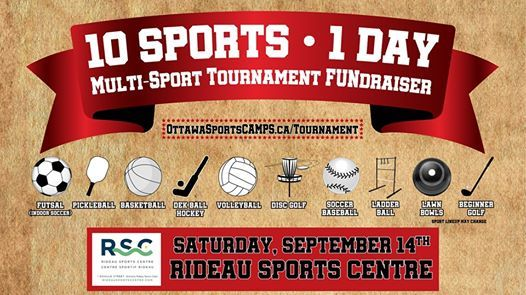 10 Sports 1 Day Multi-Sport Tournament FUNdraiser 2019