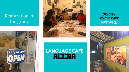 Language Café Accra: French, 19 May | Event in Accra | AllEvents.in