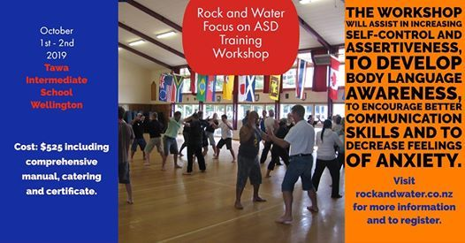 Rock and Water Focus on ASD workshop Oct 1st & 2nd 2019