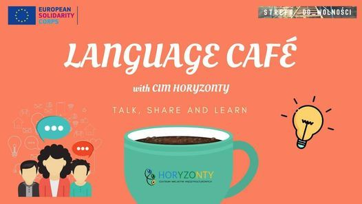 Language Café with CIM Horyzonty | Event in Poznan | AllEvents.in