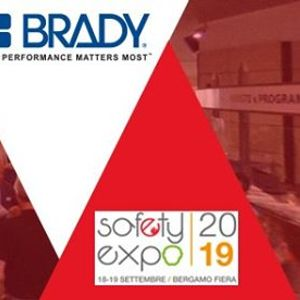 Brady at Safety Expo in Italy