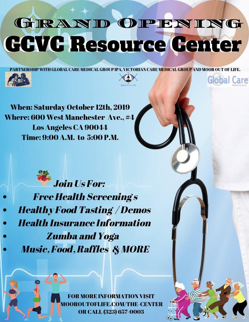 GCVC Resource Center Grand Opening