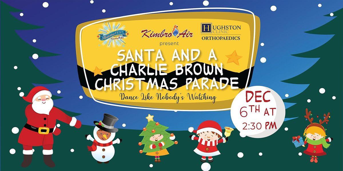 Charlie Brown Christmas Shown On December 6, 2020 51st Annual Hendersonville Christmas Parade, Drakes Creek Park