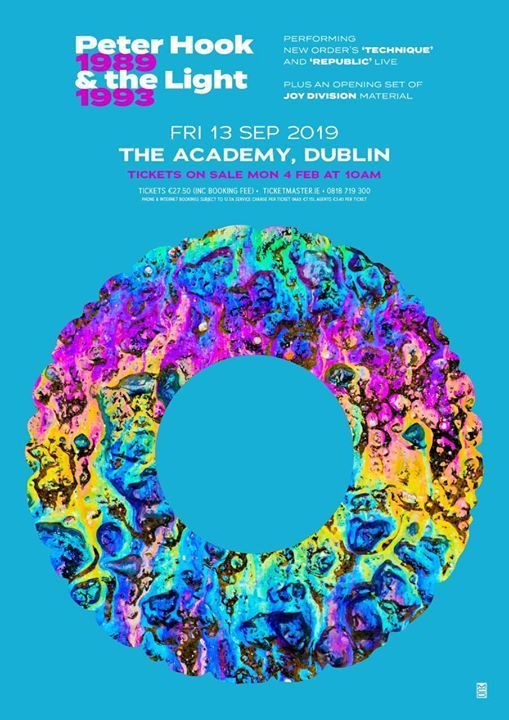 Peter Hook and The Light at the Academy Dublin