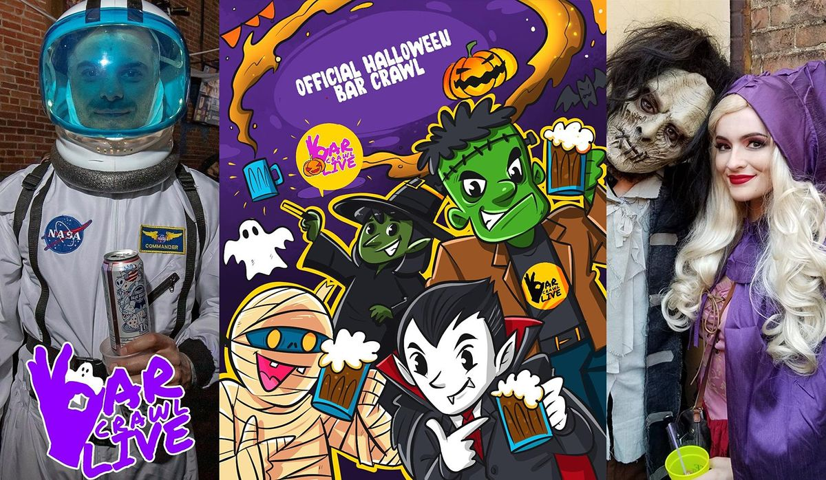 Official Halloween Bar Crawl | Richmond, VA - Bar Crawl LIVE!, 23 October | Event in Richmond | AllEvents.in