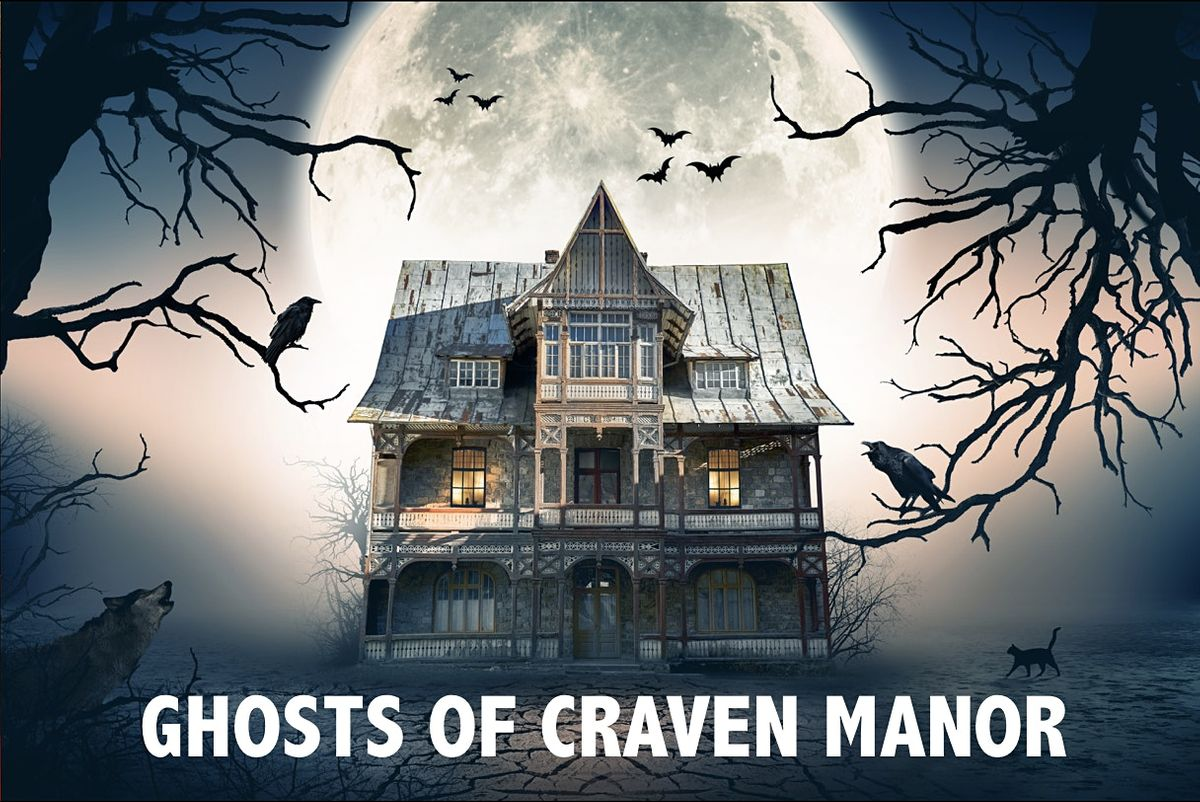 The Ghosts of Craven Manor: Virtual Escape Room Adventure   Online Event   AllEvents.in